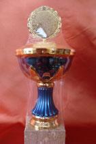 Pokal blau-gold E100