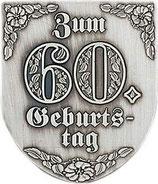 "Wappen ""Zum 60.Geburtstag"""
