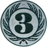 """Emblem """"Zahl 3"""""""