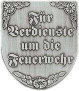 """Wappen """"Für Verdienste um die Feuerwehr"""""""