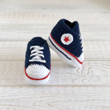 Babysneakers marineblau