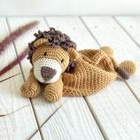 Schmusetuch Löwe