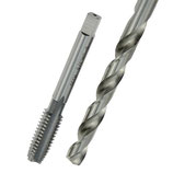 """3/8""""-HSSG-Einschnittgewindebohrer incl. 8 mm-Kernlochbohrer"""