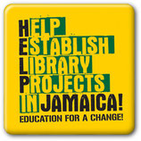 HELP JAMAICA! BUTTON/PIN
