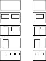 Fenster/Türen hinten für Raummodul-Container ISO-RM, 20 ft /// Rear Windows / Doors for ISO Module Room Module Container, 20 ft