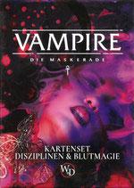 Vampire Die Maskerade V5 Kartenset - Disziplinen & Blutmagie