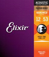 Elixir 12-53 16052 Nanoweb Phosphor Bronze