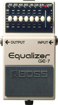 Boss GE-7 7-Band Graphic EQ
