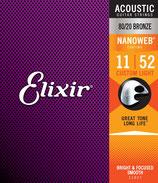 Elixir 11-52 11027 Nanoweb Bronze