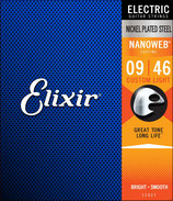 Elixir 9-46 12027 Nanoweb Nickel Plated Steel