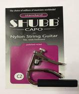 Shubb Capo 6 string Konzertgitarre