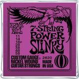 Ernie Ball 7-String Power Slinky 2620