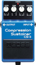 Boss CS3 Compression Sustainer