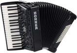 Hohner Amica Forte III 72 silent key