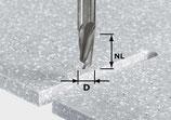 Spiralnutfräser HW Schaft 12 mm Festool