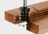 Verleimfräser HW Schaft 8 mm Art. 491034 Festool