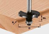 Profilfräser Radius HW Schaft 8 mm Art. 491131 Festool