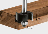 Falzfräser HW Schaft 8 mm Art. 491022 Festool