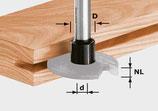 Frässpindel für Scheibennutfräser HW Art. 499805