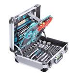 Werkzeugkoffer Alu technocraft PRO CASE 5 mit 139-teiligem Werkzeugsatz