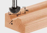 Hohlkehlfräser HW, Schaft 12 mm Festool