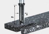 Wendeplatten-Nutfräser HW Schaft 12 mm Art. 491110