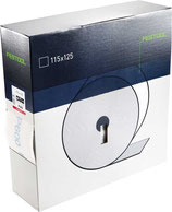 Schleifrolle Granat soft 115mm x 25m P120 - P800 Festool