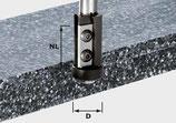 Wendeplatten-Bündigfräser HW Schaft 12 mm Art. 491120