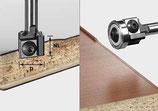 Wendeplatten-Bündigfräser HW Schaft 8mm Art. 499806