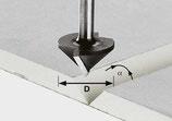 Gipskartonfräser HW Schaft 8 mm Festool