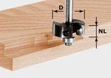 Wendeplatten-Falzfräser HW mit Anlaufkugellager,  Schaft 8 mm Art. 491085 Festool