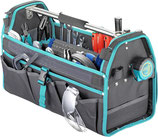 Werkzeugtasche technocraft ALLROUND-BASIC mit 100-teiligem Werkzeugsatz