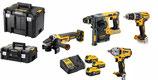 Akku-Set 18 Volt 4 Tool Kit DCK428P3T