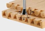 Grat-/Zinkenfräser HW Schaft 8 mm HW S8 D20/26/10° Art. 491165 Festool