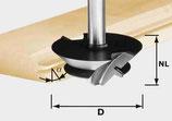 Gehrungsverleimfräser HW Schaft 12 mm Art. 492709 Festool