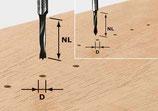 Dübelbohrer HW Schaft 8 mm