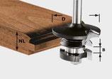 Konterprofilfräser Feder HW Schaft 8 mm Art. 491130 Festool