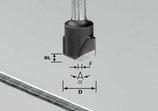 V-Nutfräser HW Schaft 8 mm Festool
