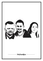 Poster - Alla tre