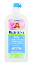 Eau Nettoyante sans rinçage Baby, visage et corps à la camomille, NATESSANCE - 500ml
