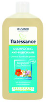 Shampooing Anti-pelliculaire, cheveux à pellicules grasses, NATESSANCE - 500ml