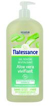 Gel douche Revitalisant, à l'aloé vera, sans sulfates NATESSANCE - 1L
