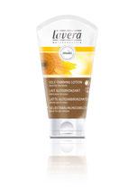 Lait autobronzant corps, huile de macadamia bio et huile de tournesol bio LAVERA - 150ml