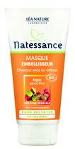 Masque Embellisseur, cheveux secs et crépus NATESSANCE - 150ml