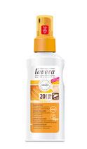 Spray solaire SPF 20, 100% minérale Calendula bio et Huile de tournesol bio LAVERA - 125ml
