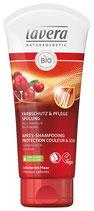 Après-shampooing Protection couleur & Soin Cranberry bio et Avocat bio, cheveux colorés LAVERA - 200ml