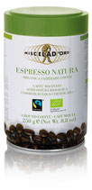 Miscela d'oro - ESPRESSO NATURA - organic & fairtrade - gemahlen - 250g