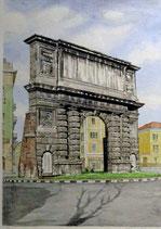Berto Renzetti - Milano, porta Romana cm 70x50