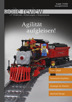 agile review 2020/01 Agilität aufgleisen!