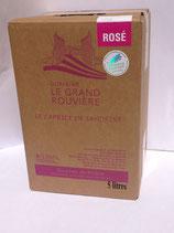 Bag in Box Vin de pays Rosé Domaine Le Grand Rouvière
